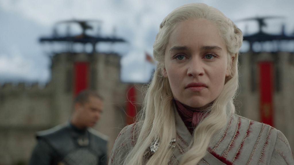 Emilia Clarke w serialu Gra o tron