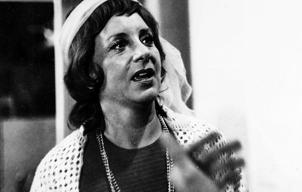 Zofia Czerwińska w 'Poszukiwany. Poszukiwana' 1972 r.