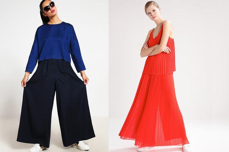 0babbf83f30129 Spodnie jak spódnica - podwójne oblicze, podwójne.
