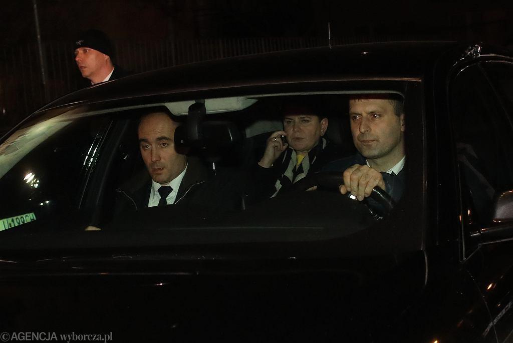 Beata Szydło po złożeniu rezygnacji przez Komitetem Politycznym PiS