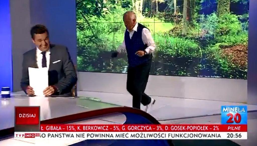 Andrzej Rosiewicz stepował w programie 'Minęła 20'