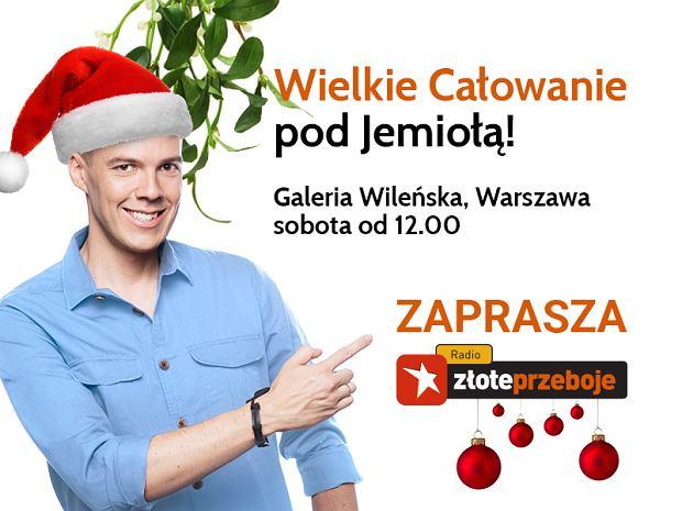 Radio Złote Przeboje zaprasza na dzień pełen prawdziwej miłości. Już w najbliższą sobotę od 12:00, pod wielką jemiołę w Galerii Wileńskiej w Warszawie stanie specjalne studio Radia Złote Przeboje!