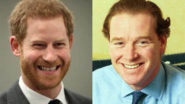Książę Harry, James Hewitt