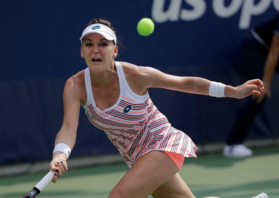 Zdjęcie numer 1 w galerii - Agnieszka Radwańska odpadła z US Open już w I rundzie. Końca kryzysu nie widać