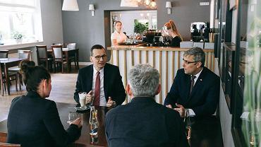 Rzecznik rządu o wizycie Morawieckiego w kawiarni: Został źle poinformowany przez swoje zaplecze na temat ograniczeń