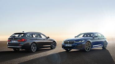 BMW serii 5 po faceliftingu 2020