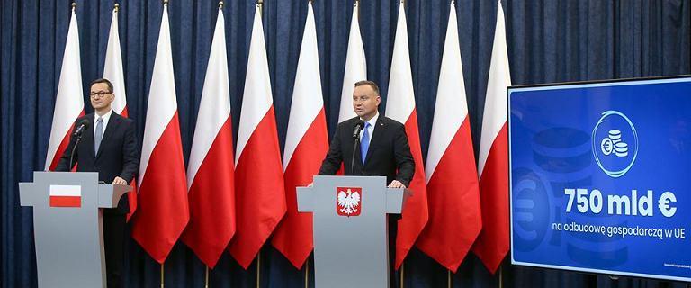 Europejski fundusz odbudowy. Prezydent i premier zajęli stanowisko