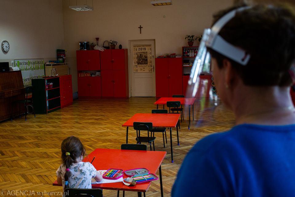 Przedszkola podczas pandemii koronawirusa (zdjęcie ilustracyjne)