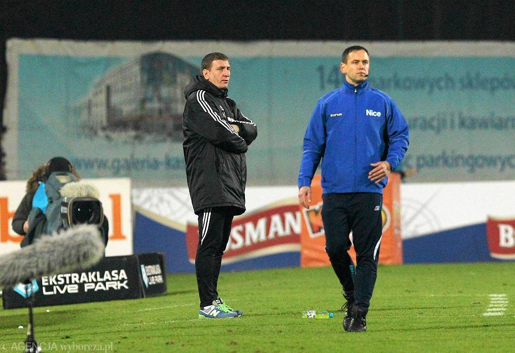 Pogoń Szczecin - PGE GKS Bełchatów 3:0. Trener Kamil Kiereś