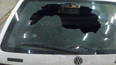 Samochód Polaków zaatakowanych w Kaliningradzie
