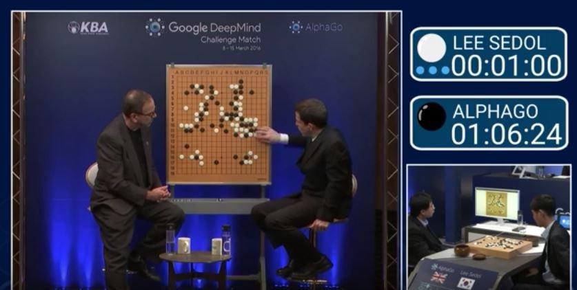 Lee Se-dol pokonał algorytm Google w grze