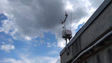 Stacja pomiarowa w Skawinie