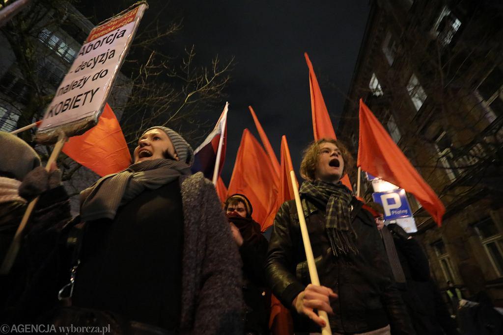 'Czarny protest'.