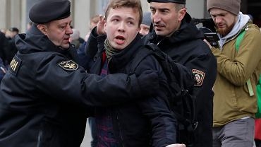 Roman Protasewicz zatrzymany w Mińsku