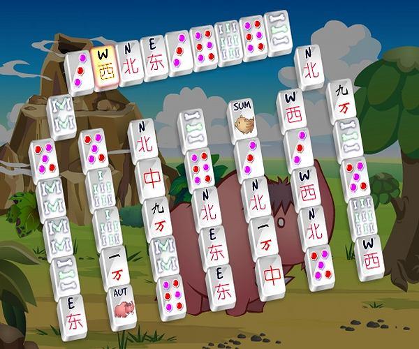 Prehistoryczny Mahjong
