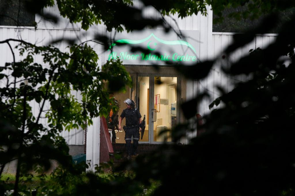 Próba zamachu terrorystycznego na meczet w Oslo