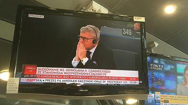 Ryszard Czarnecki - relacja TVP Info