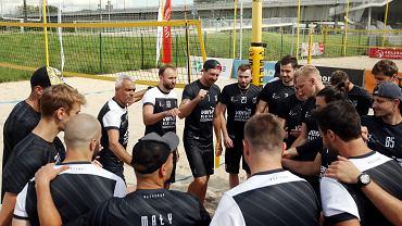 Siatkarze Vervy Warszawa przygotowania do sezonu rozpoczęli od treningów na plaży Monta Beach Volley Club