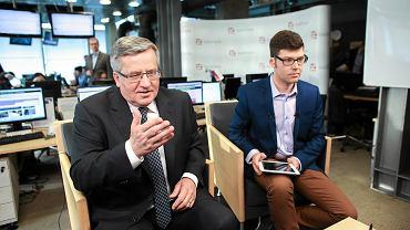 Prezydent Bronisław Komorowski - Hangout w Gazeta.pl