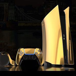 Złote PlayStation 5