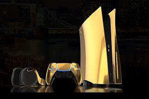 Złote PlayStation 5 dla zamożnych kolekcjonerów
