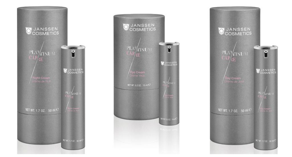 Kosmetyki Janssen Cosmetics z lini Platinum Care