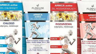 Floslek ARNICA active: na ratunek obolałym stawom i mięśniom