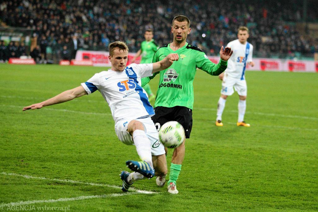 Górnik Łęczna - Lech Poznań 0:1. Tomasz Kędzior