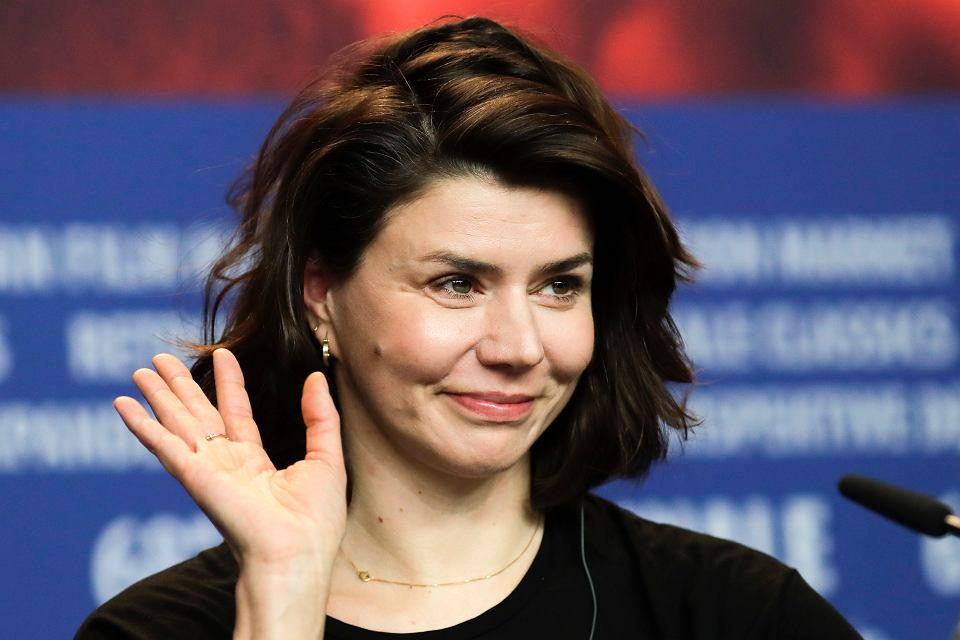 Małgorzata Szumowska podczas Festiwalu Filmowego w Berlinie, 23 lutego 2018.