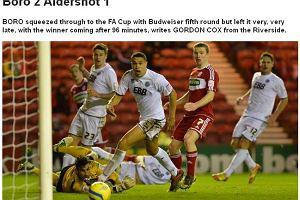 Puchar Anglii. Jutkiewicz bohaterem Middlesbrough