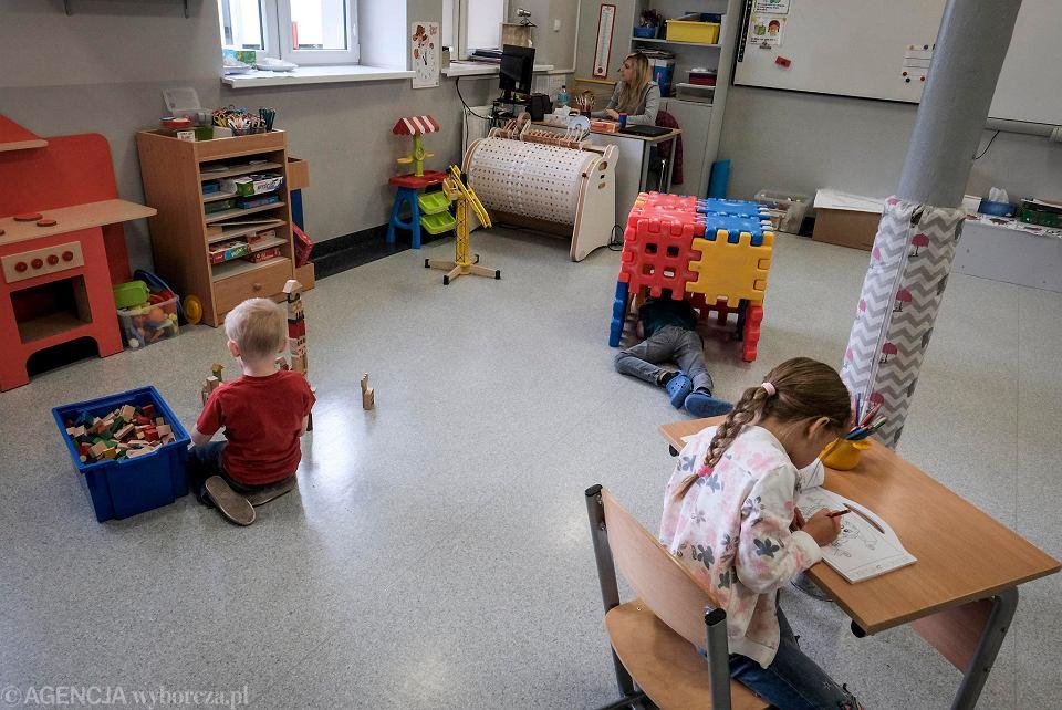 Przedszkole w czasie epidemii koronawirusa (zdjęcie ilustracyjne)