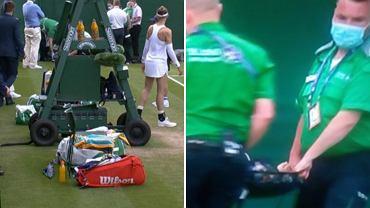 Dzieciak od podawania piłek po wypadku na Wimbledonie