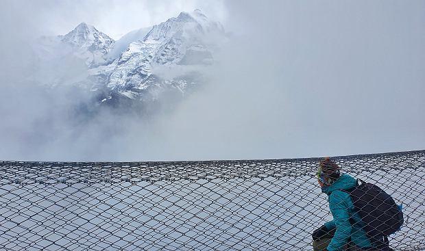 Thrill Walk i widok na masyw Jungfrau