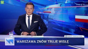 Michał Adamczyk w 'Wiadomościach'