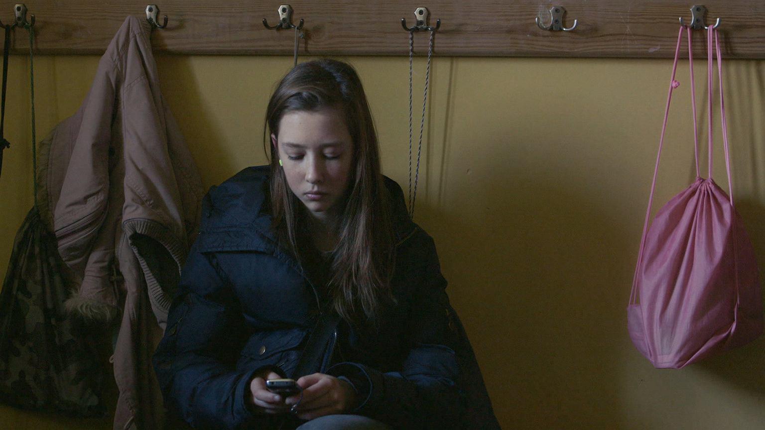 Kadr z filmu ''Komunia''