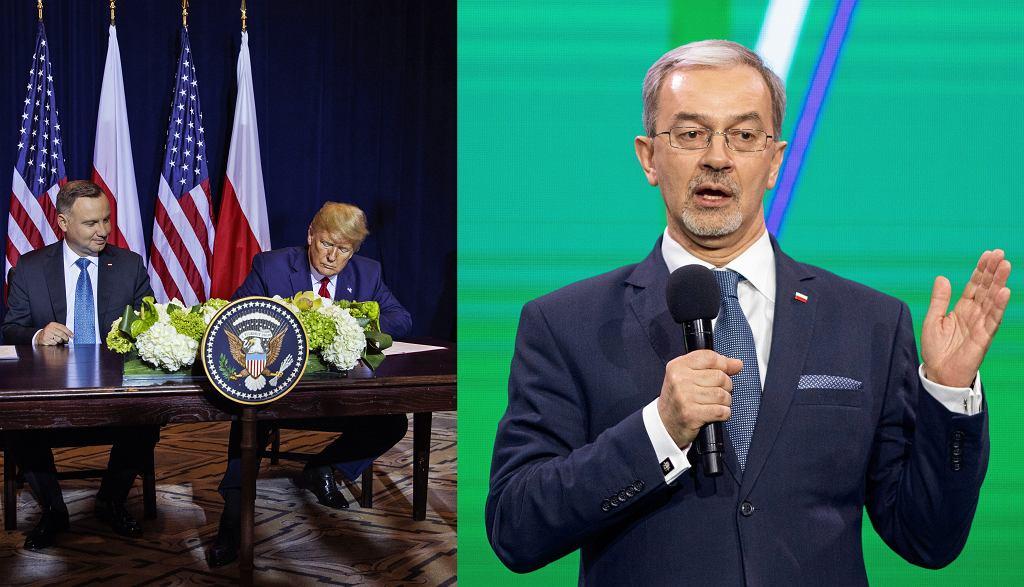 Prezydenci Donald Trump i Andrzej Duda podpisali deklarację o poszerzeniu współpracy wojskowej. Minister Finansów Jerzy Kwieciński skomentował finansowy aspekt porozumienia