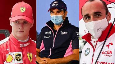 Mick Schumacher i Sergio Perez największymi rywalami Roberta Kubicy w walce o miejsce w Formule 1