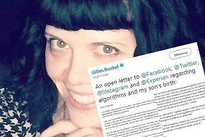 """Po poronieniu napisała list otwarty do Facebooka. """"Czy wasze algorytmy nie widzą, że moje dziecko zmarło?"""""""