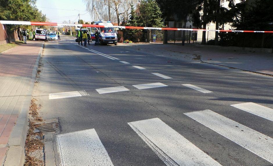 Potrącenie na przejściu dla pieszych - zdjęcie ilustracyjne