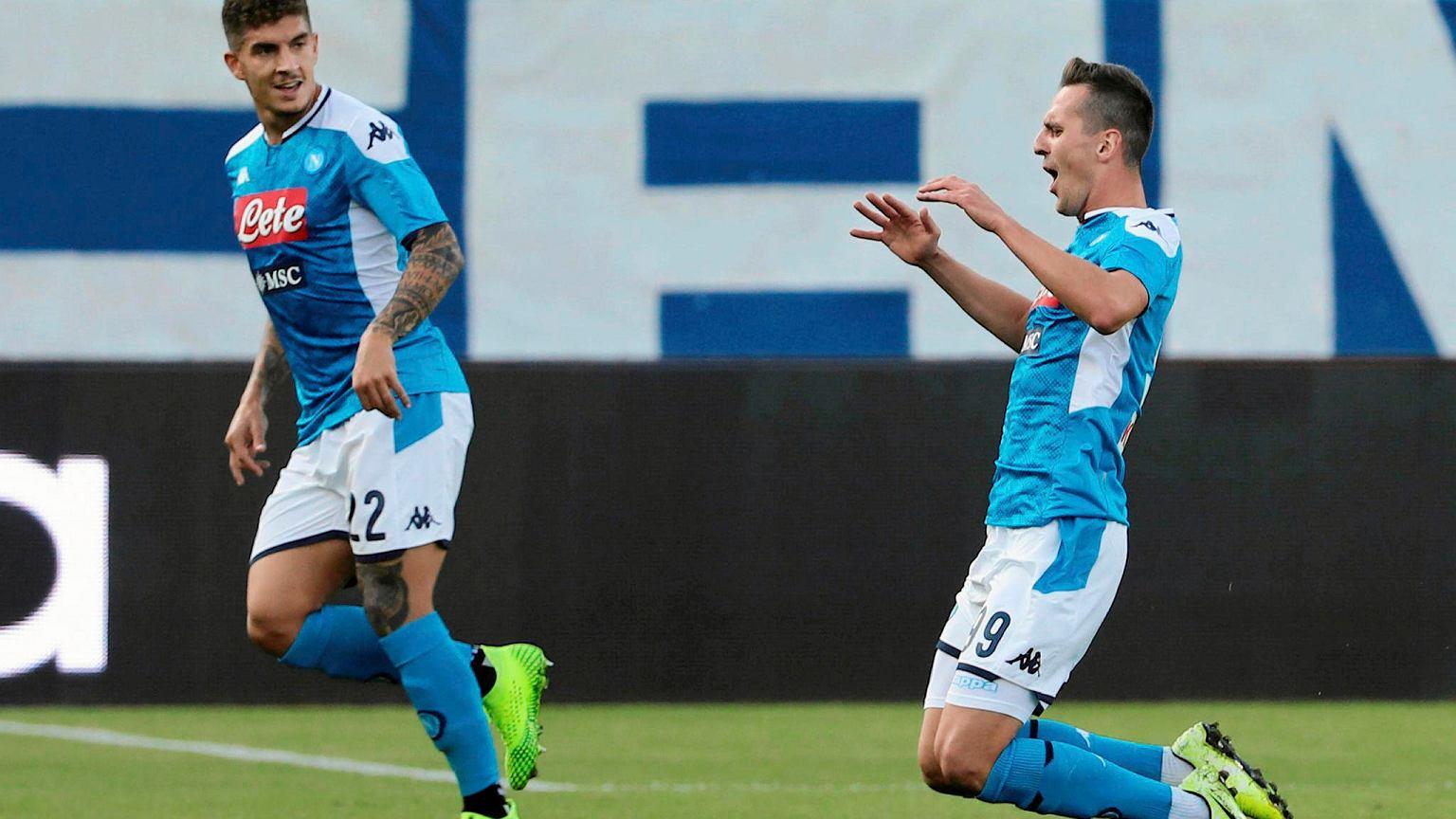 Arkadiusz Milik wraca do kadry Napoli na mecz najważniejszy mecz Ligi Mistrzów