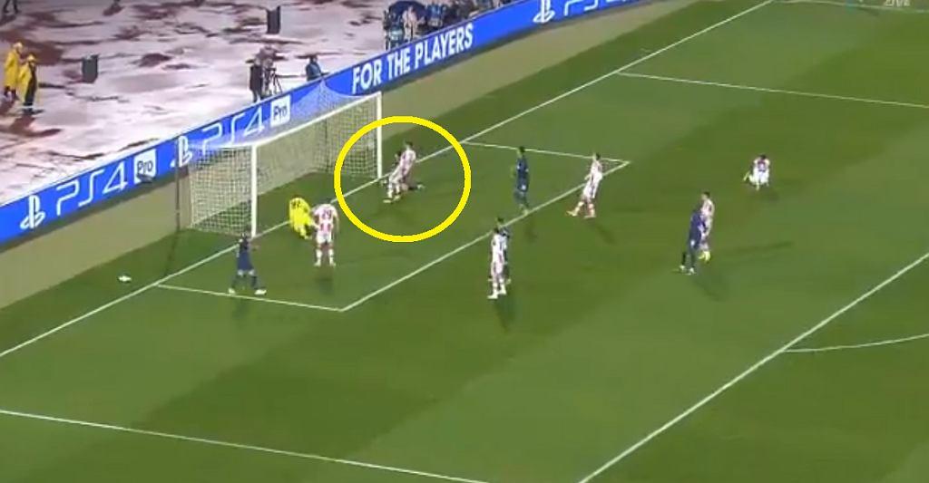 Gol Tottenhamu w meczu