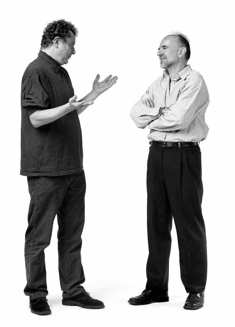 Zdjęcie numer 2 w galerii - Tadeusz Pióro i Marek Bieńczyk na działce