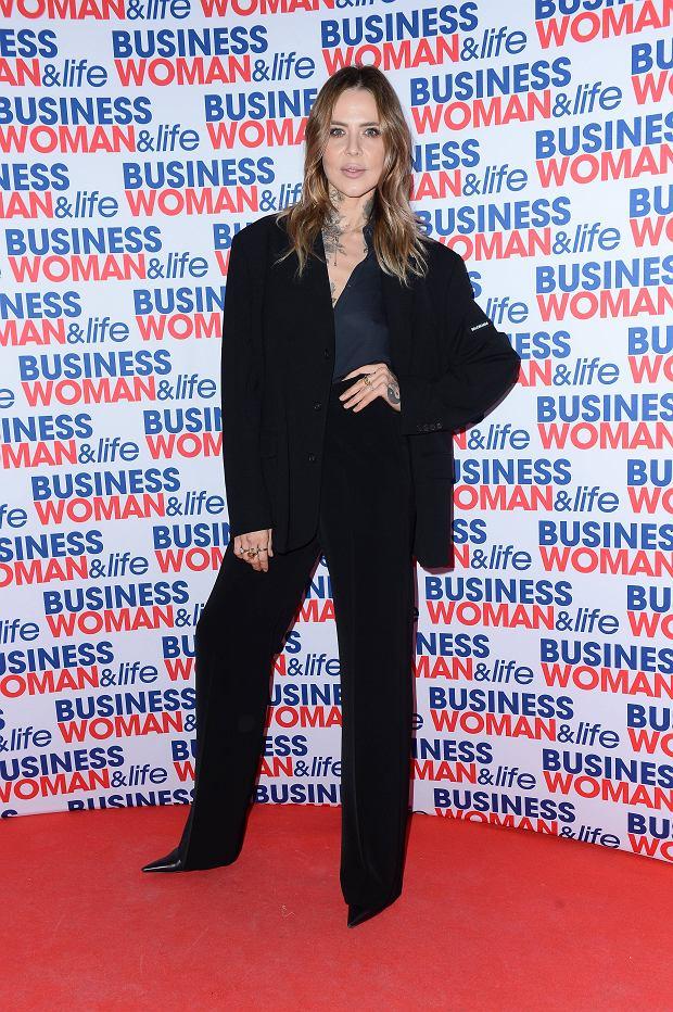 Maja Sablewska na charytatywnej gali kalendarza Businesswoman & Life 2020