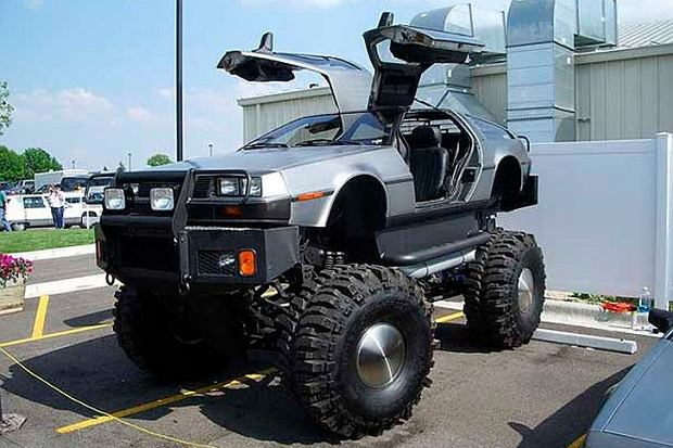 DeLorean Monster Truck