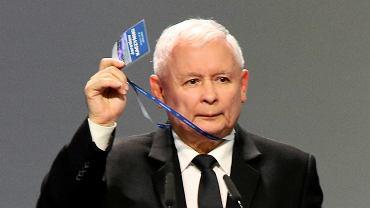 Jarosław Kaczyński na Kongresie PiS i Zjednoczonej Prawicy