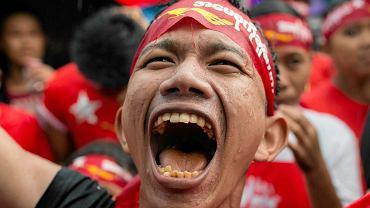 Radość zwolenników Aung San Suu Kyi