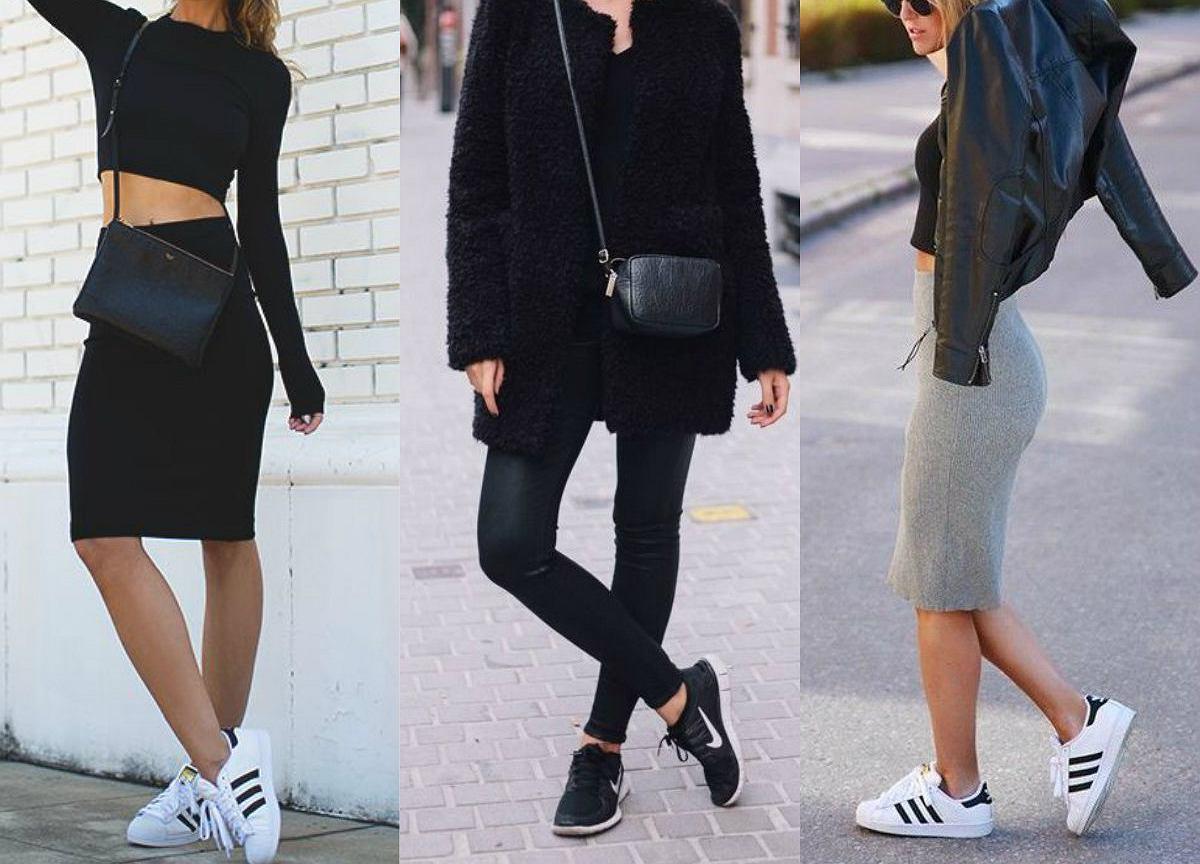 bluzyz damskie stylizacje buty