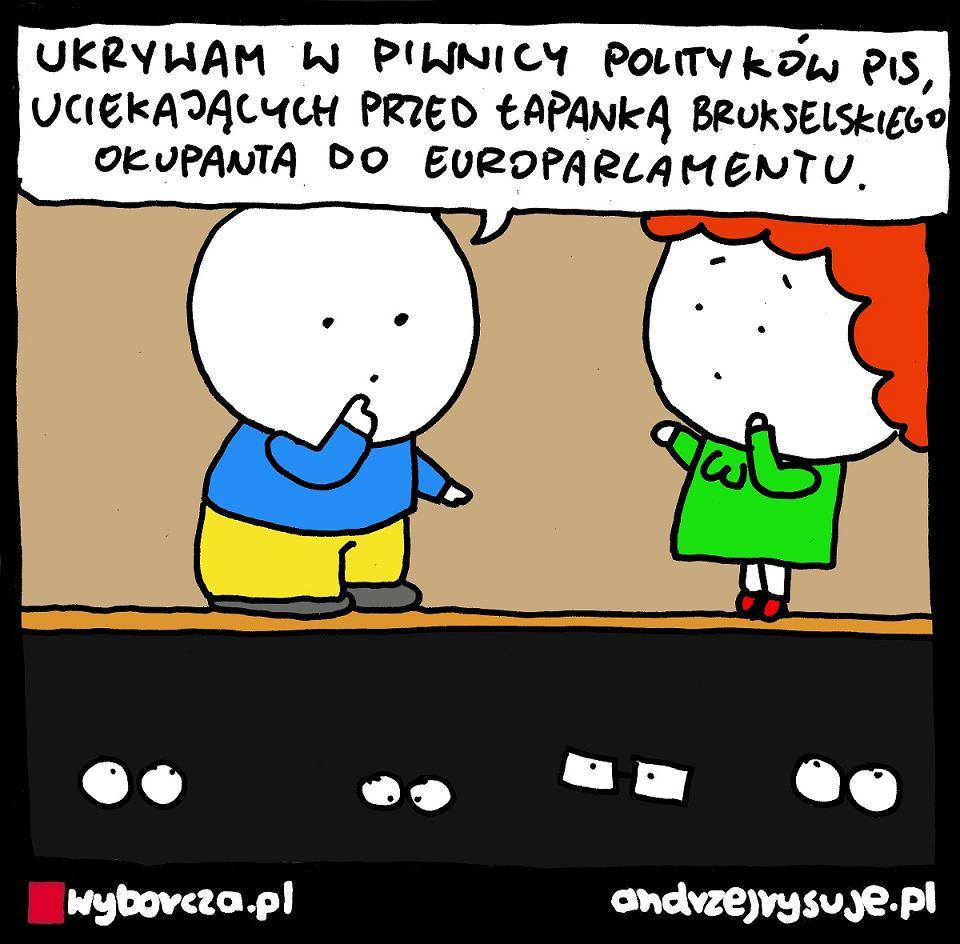 Andrzej Rysuje   OKUPANT - Andrzej Rysuje   11 września 2021 r. - null