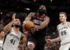 Niesamowity mecz w NBA! Kapitalny występ Hardena nie dał zwycięstwa Rockets