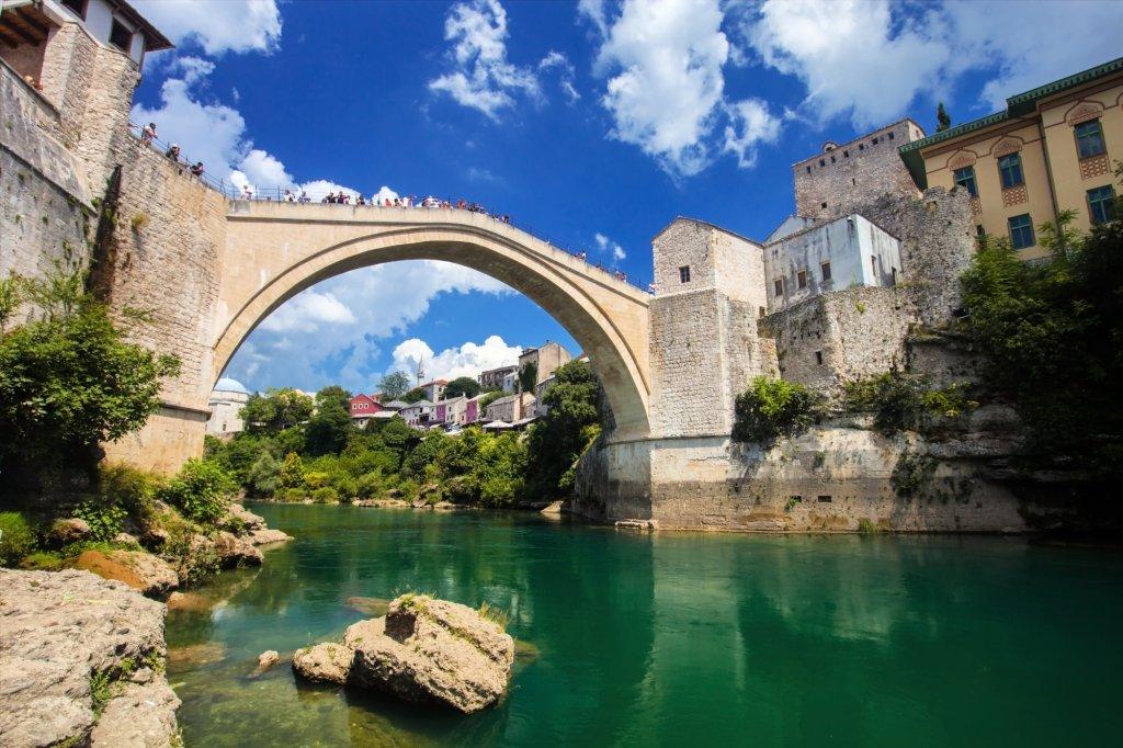 Stary Most w Mostarze, Bośnia i Hercegowina